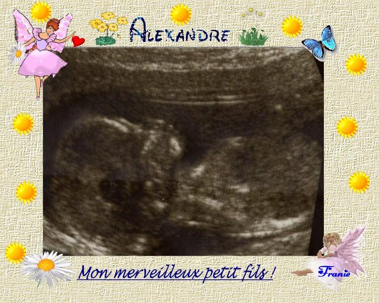 MON PETIT FILS ALEXANDRE